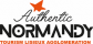 logo authentic normandy tourism